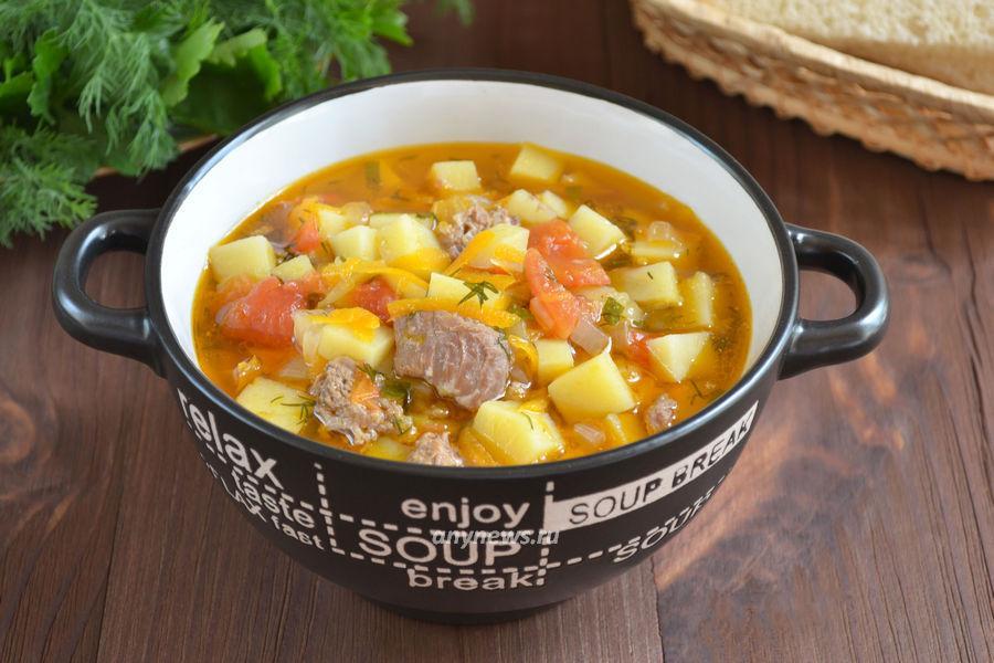суп из тушенки с картошкой - рецепт