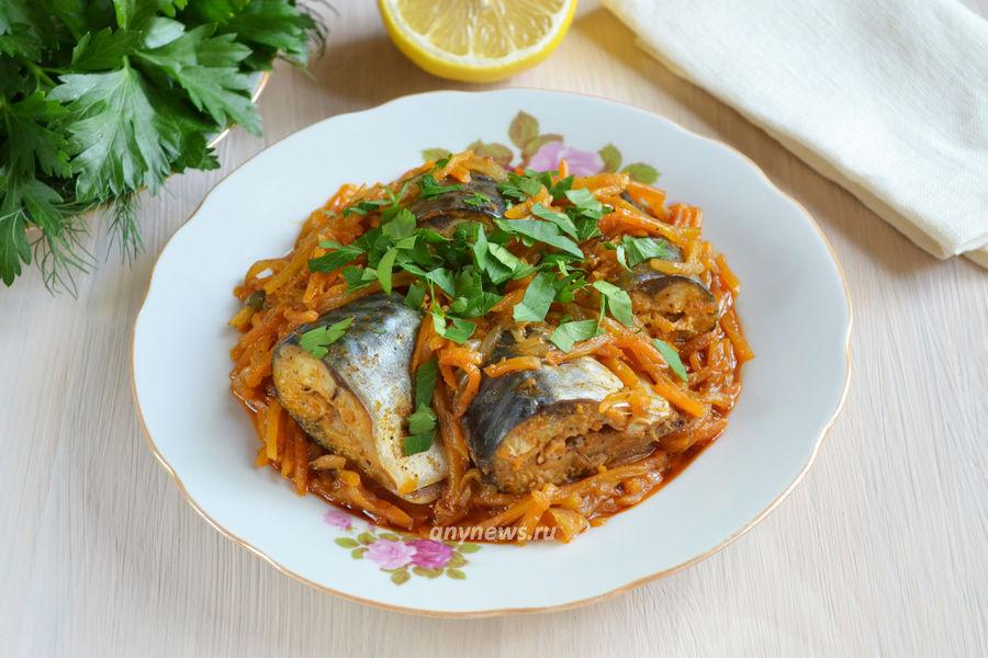 Рыба по-гречески - рецепт