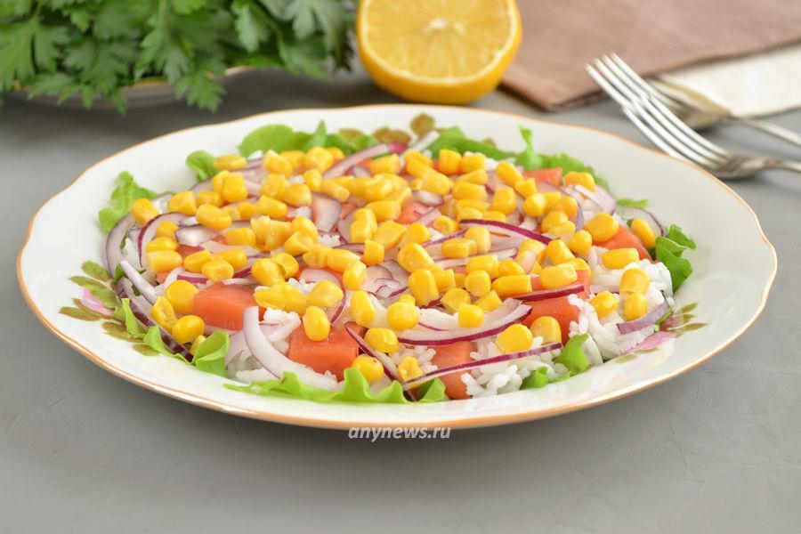 салат с неркой - рецепт
