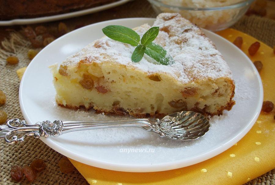 творожный пирог на скорую руку - рецепт