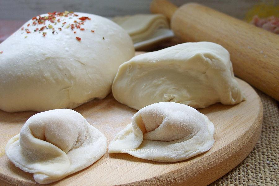 Тесто для пельменей в хлебопечке - рецепт