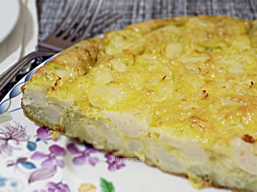 Пирог из цветной капусты - рецепт