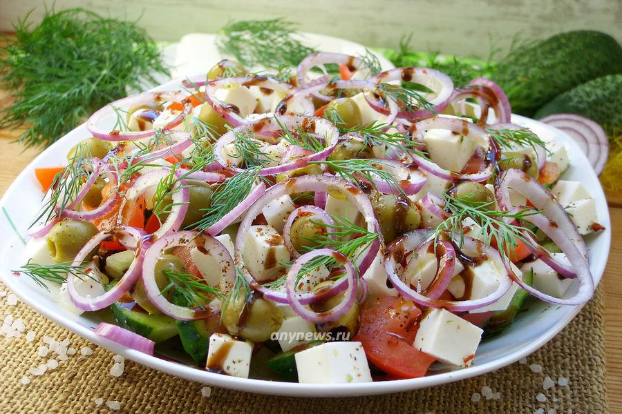Салат с картофелем и сыром - рецепт