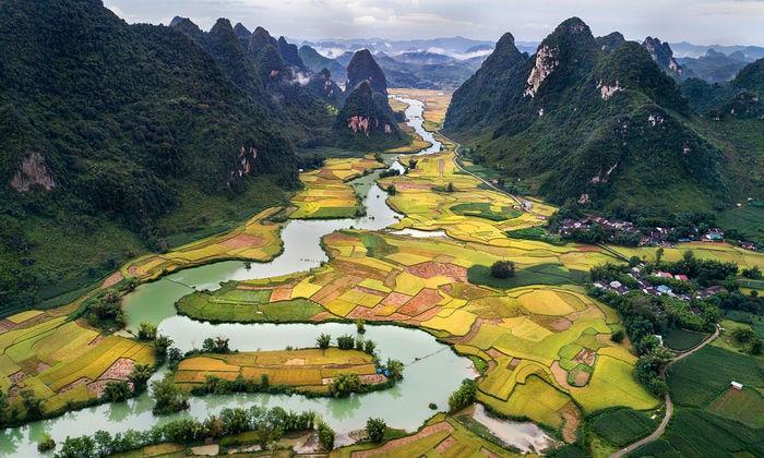 Вьетнамский пейзаж
