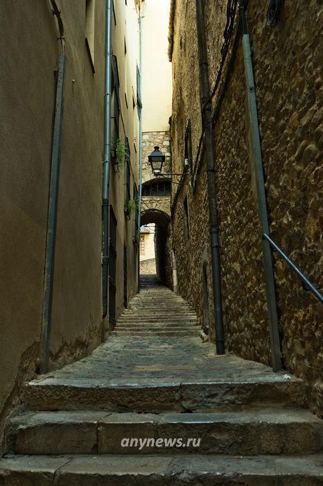 Улицы древней Жироны