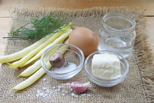 Стручковая фасоль с яйцом - рецепт пошаговый с фото