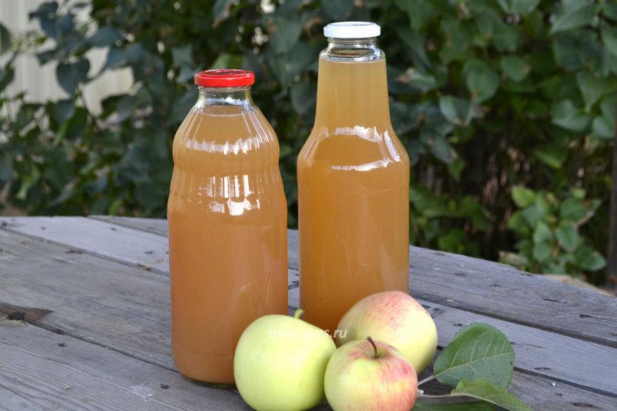 Яблочный сок в соковарке - рецепт