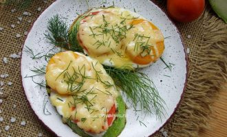 Кабачки с помидорами и сыром - рецепт