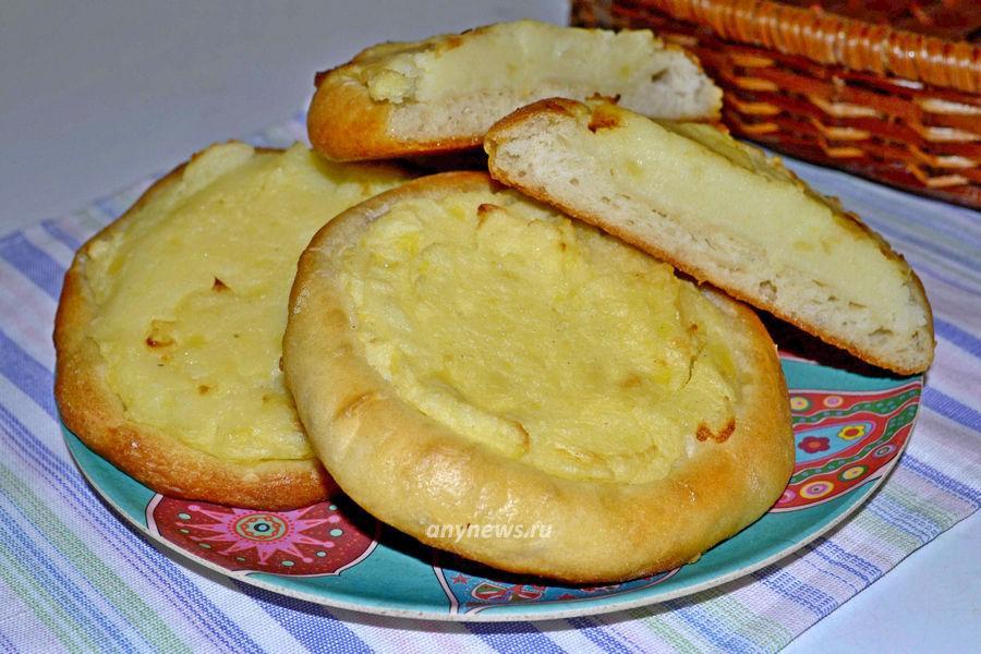 шаньги с картошкой - рецепт