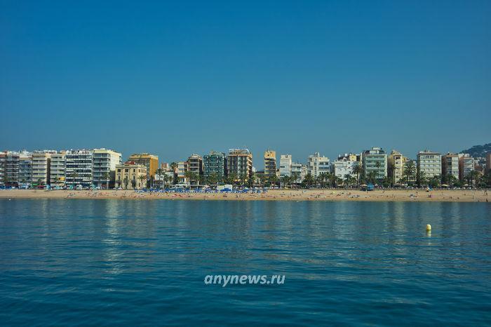 Пляж Льорет де Мар