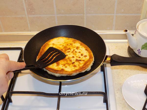 Пышки на кефире жареные на сковороде