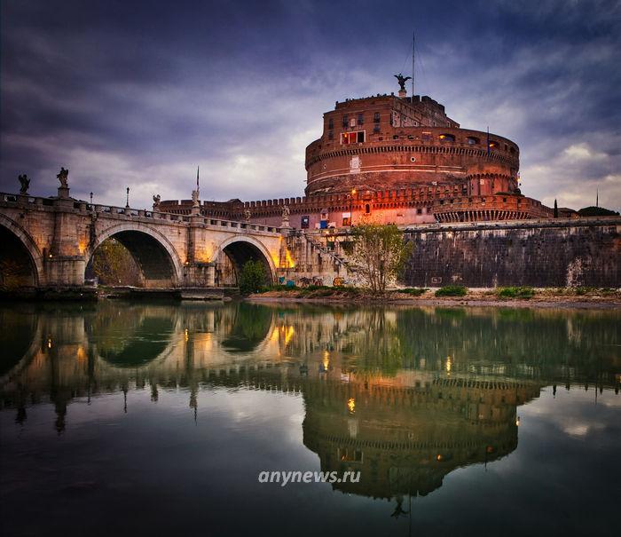 Италия, Рим, синий час