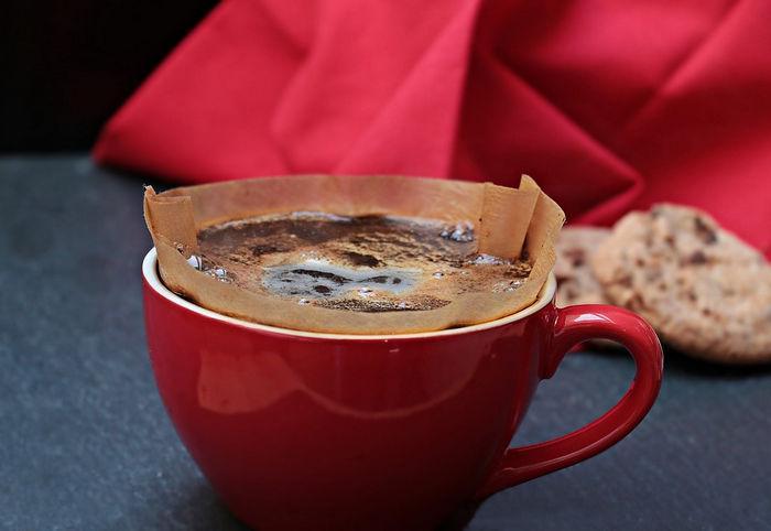 Бумажный кофеный фильтр
