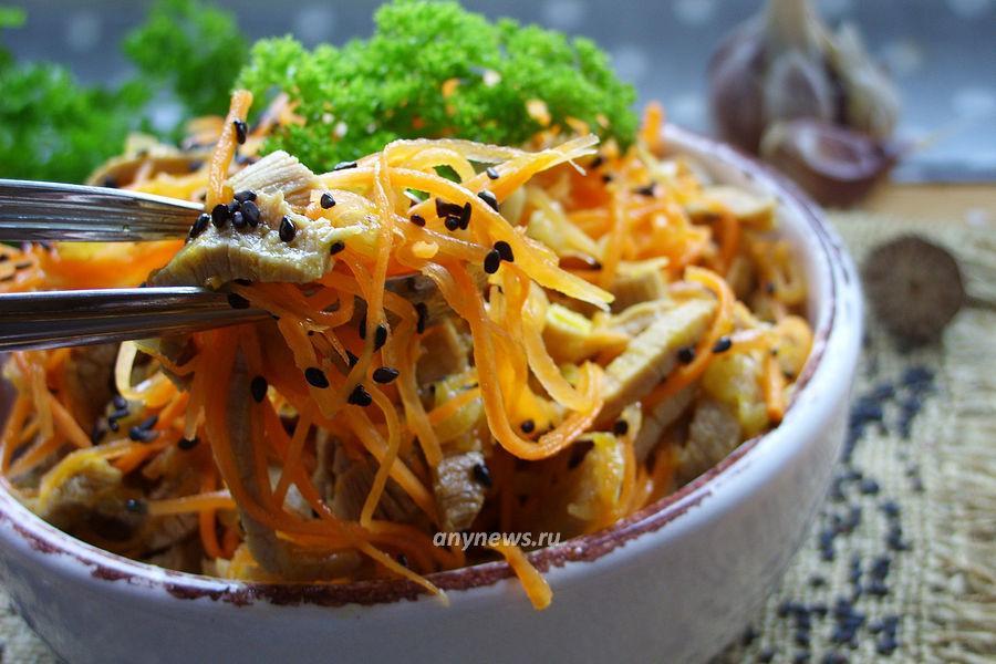 Хе из говядины по-корейски - рецепт