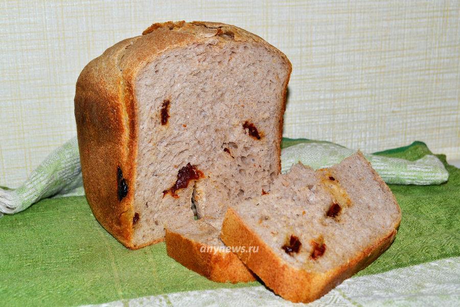 Домашний хлеб с вялеными помидорами - рецепт