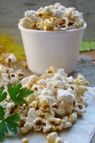 Домашний попкорн из кукурузы в микроволновке