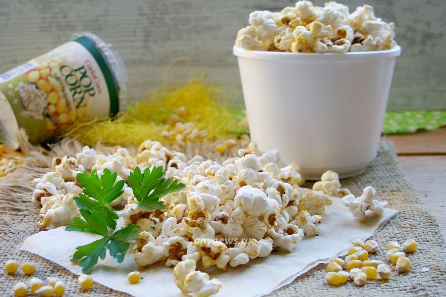 попкорн из кукурузы в микроволновке - рецепт