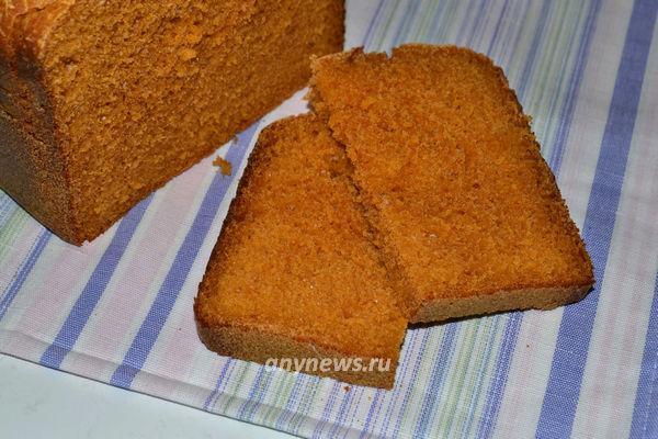 Хлеб на томатном соке с мякотью