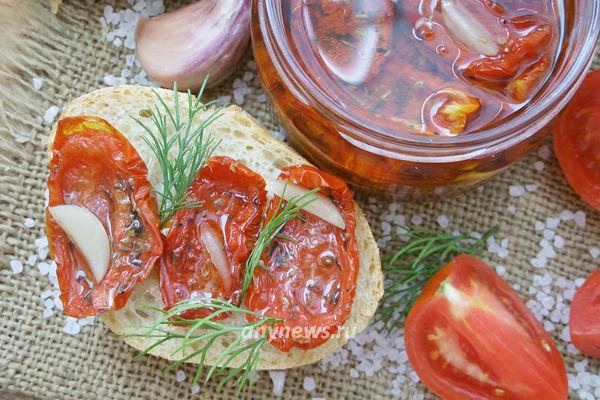 Вяленые помидоры в домашних условиях