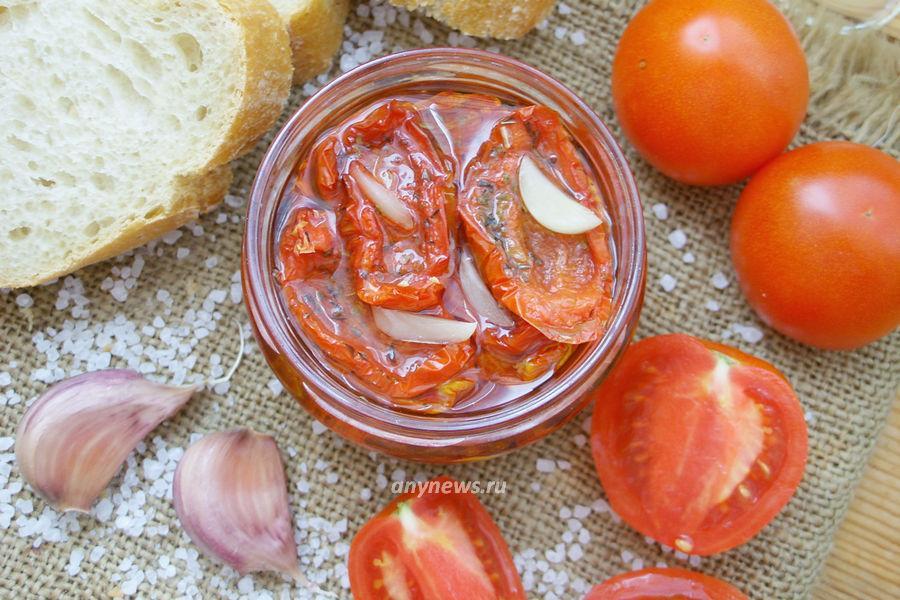Вяленые помидоры в домашних условиях - рецепт