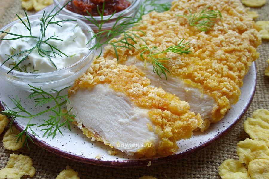 Куриное филе в панировке - рецепт