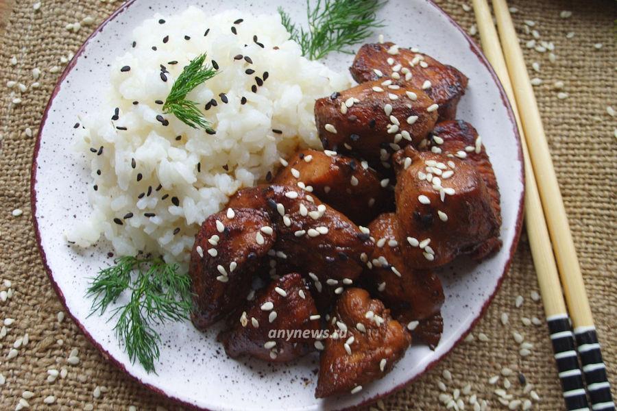 Куриное филе в соевом соусе - рецепт