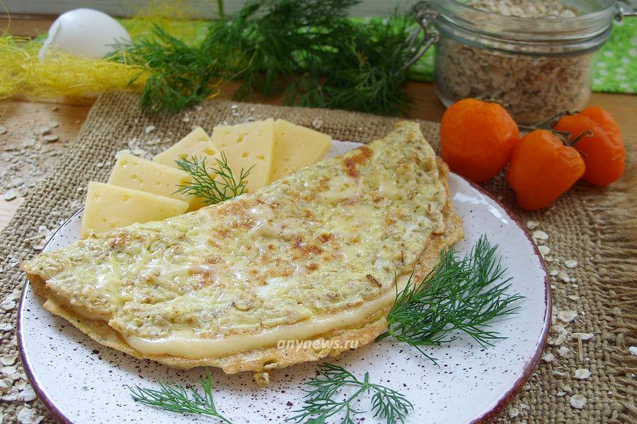 Овсяноблин с сыром - рецепт