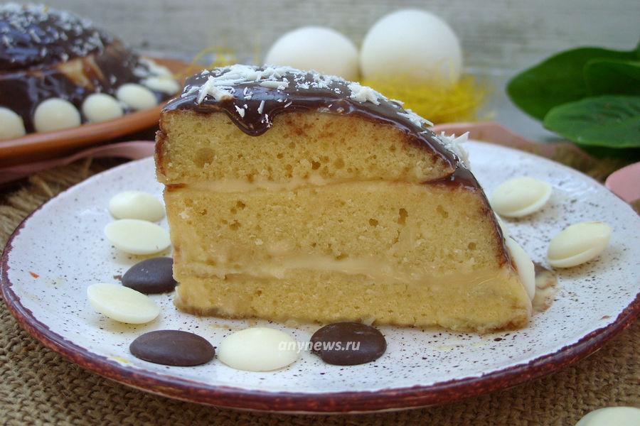 Торт в микроволновке за 5 минут - рецепт