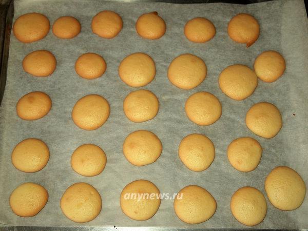 Бисквитное печенье с начинкой