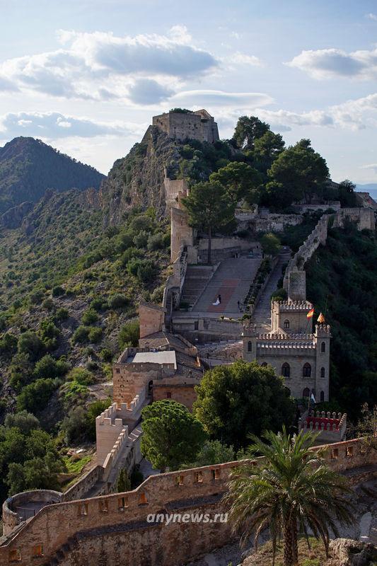 Вид на большой замок