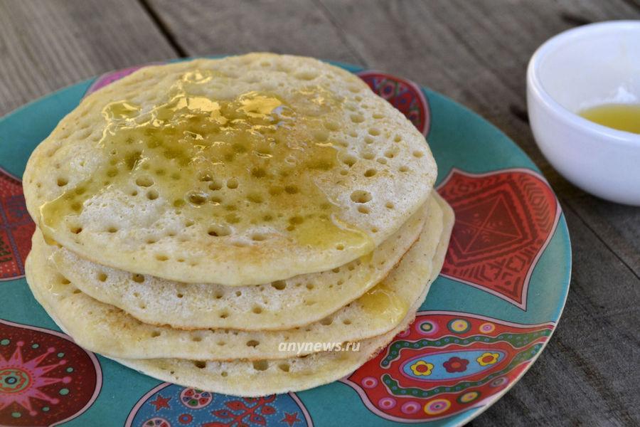 Марокканские блинчики Багрир - рецепт