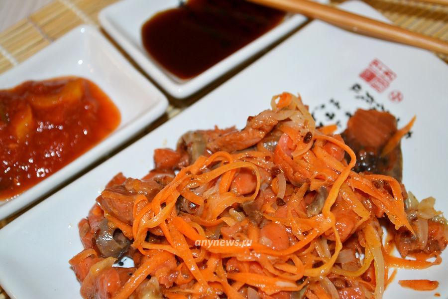 Хе из кижуча по-корейски - рецепт