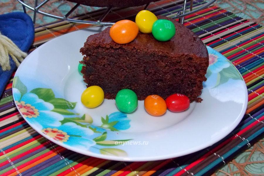 Шоколадный кекс в духовке - рецепт