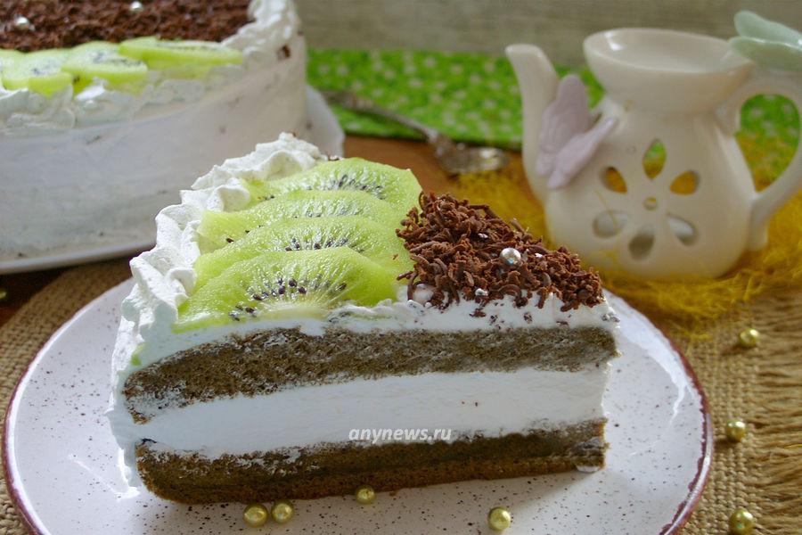 торт с чаем матча - рецепт