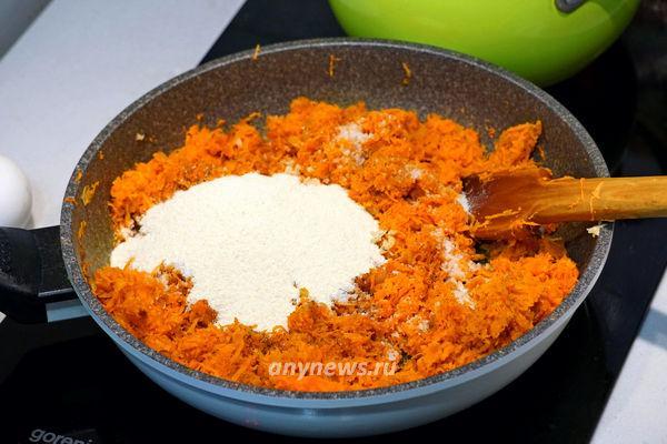 Морковные котлеты в духовке