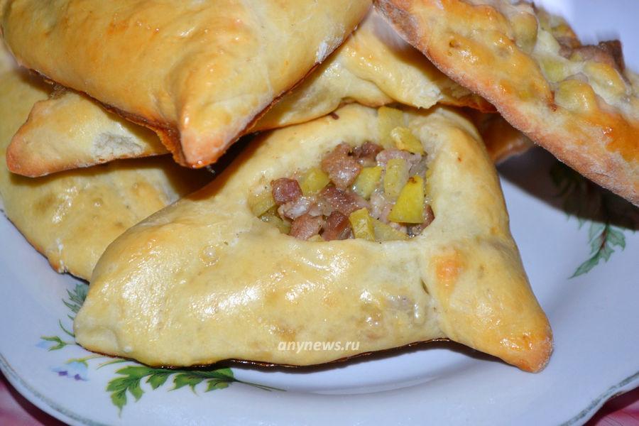пирожки с картошкой и мясом - рецепт