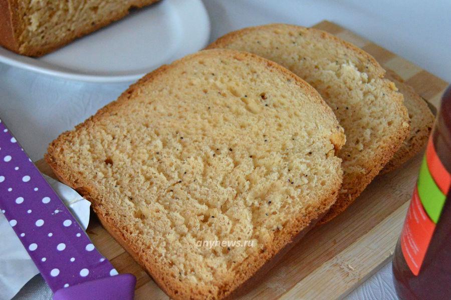 Сдобная булка в хлебопечке - рецепт
