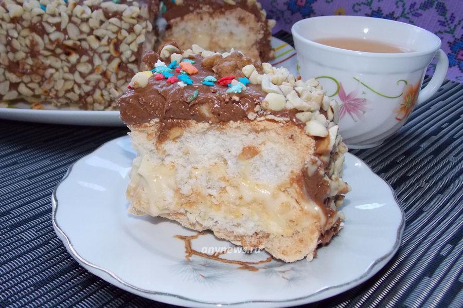 киевский торт в домашних условиях - рецепт