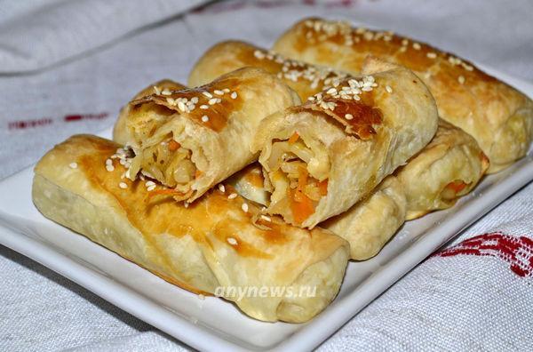 Вэрзэре с капустой - пирожки молдавской кухни