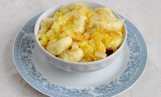 Ленивые вареники с картошкой - рецепт с фото