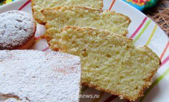 лимонный кекс - рецепт с фото