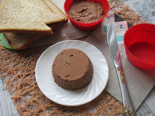 Сливочное шоколадное масло в домашних условиях