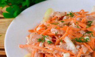 Хе из курицы по-корейски - рецепт