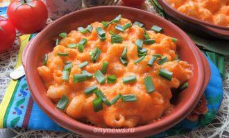 Макароны с сыром по-американски - рецепт с фото