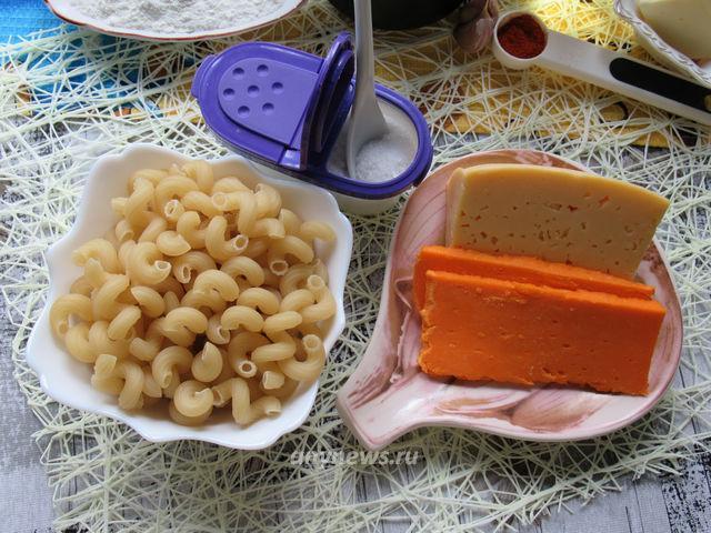 Макароны с сыром по-американски Mac and Cheese