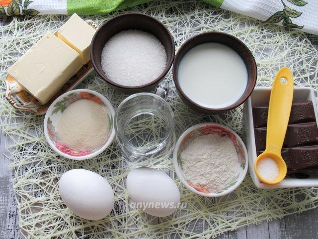 Суфле Птичье молоко - ингредиенты