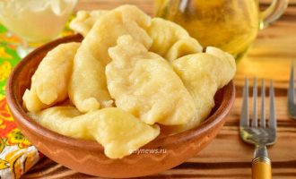 Вареники с творогом и картошкой - рецепт