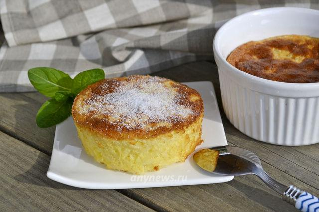 Классический рисовый пудинг в духовке - рецепт с фото