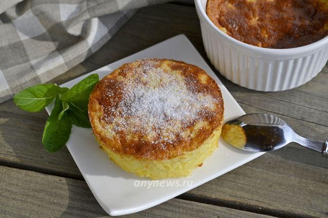 Английский рисовый пудинг в духовке - рецепт с фото