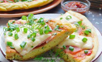 Быстрая пицца на сковороде за 10 минут - рецепт с фото